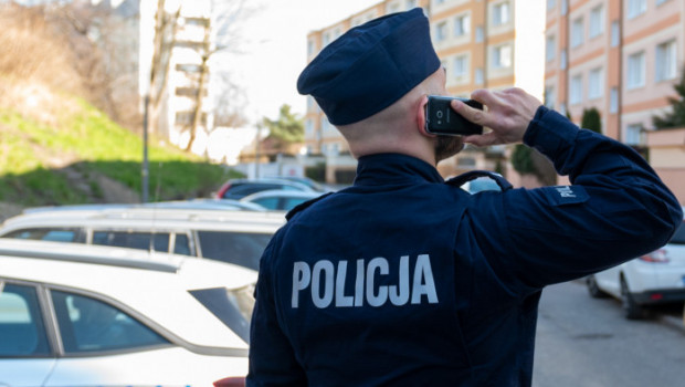 Policjant nie zastał kontrolowanego mężczyzny na miejscu. Zdjęcie ilustracyjne.