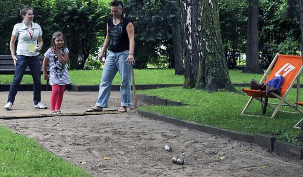 Parkowanie w Parku Oliwskim to impreza dla całej rodziny.