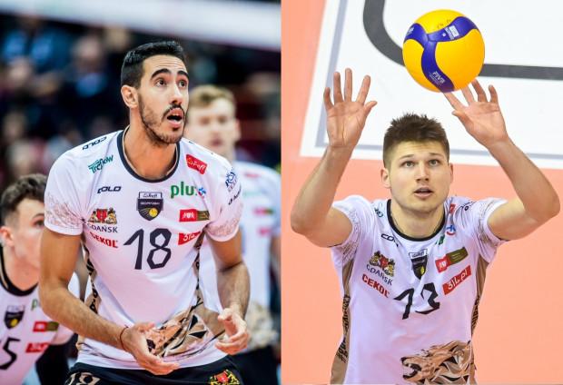 Pablo Crera (z lewej) i Ruben Schotta(z prawej) wyrazili chęć pozostania w Treflu Gdańsk. Nadzieję na dalszą współpracę ma także klub, choć o wszystkim zdecydują negocjacje finansowe.