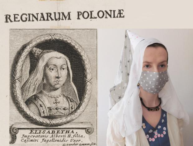 Interpretacja muzealnych eksponatów to nie tylko ciekawa forma spędzania wolnego czasu, ale i okazja do zdobycia cennych nagród. Na zdj. uwspółcześniona wersja portretu Elżbiety, żony Jagiellończyka.