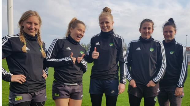Biało-Zielone Ladies Gdańsk wróciły do treningów w 6-osobowych grupach. Wierzą, że będą mogły wznowić mistrzostwa Polski, a z reprezentacją Polski wrócić na międzynarodową arenę.