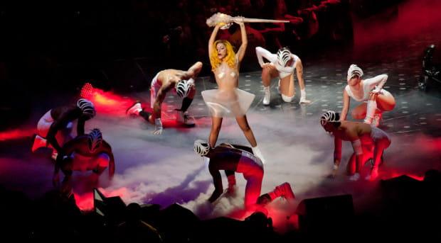 Lady Gaga zrobiła w Ergo Arenie wielki show.