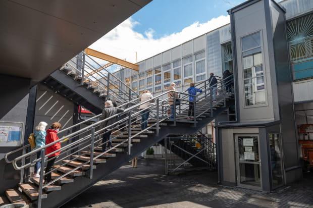 Tak wyglądała biblioteka Pilotów w dniu otwarcia, 18 maja.