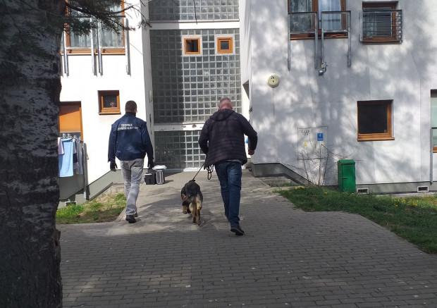 Do ataku nożem doszło w piątek, 24.04, na jednej z klatek schodowych przy ul. Okrzei w Gdyni.