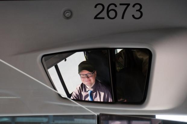 Pan Paweł od dziewięciu lat pracuje jako kierowca w spółce Gdańskie Autobusy i Tramwaje.