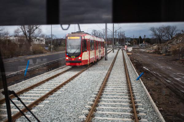 Gdańsk-Stogi. Uruchomienie pierwszego etapu wyremontowanej linii tramwajowej na Stogi.