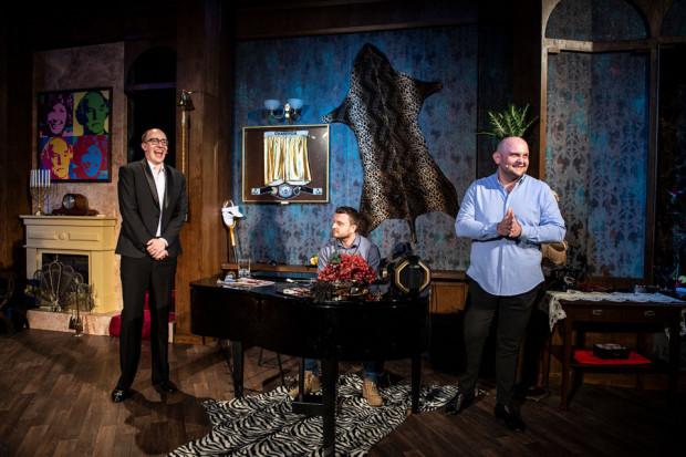"""Komedia """"The Big Bang"""" grana będzie w Teatrze Muzycznym na przełomie lipca i sierpnia. Spektakl przeniesiony zostanie ze Sceny Kameralnej na Nową Scenę."""