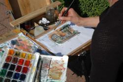 Artystka Anita Pasikowska-Pilecka pytała mieszkańców Gdańska, jakie są ich ulubione miejsca w mieście, a następnie je malowała. Prace można oglądać w CSW Łaźnia od 1 do 2 października.