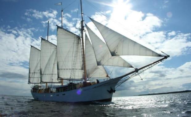 Szkuner gaflowy zwodowany w 1918 r. w Holandii od najbliższej soboty będzie pływał jako s/y Kapitan Borchardt, a Gdańsk będzie jego macierzystym portem.