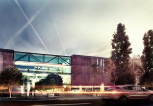 Wizja architektów pracujących dla Bałtyckiej Grupy Inwestycyjnej.