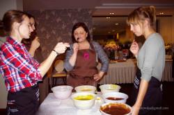 od lewej: Małgorzata Minta (blog ugotuj.to), Zofia Weiss, Agnieszka Dąbrowska, Karolina Błaszkowska