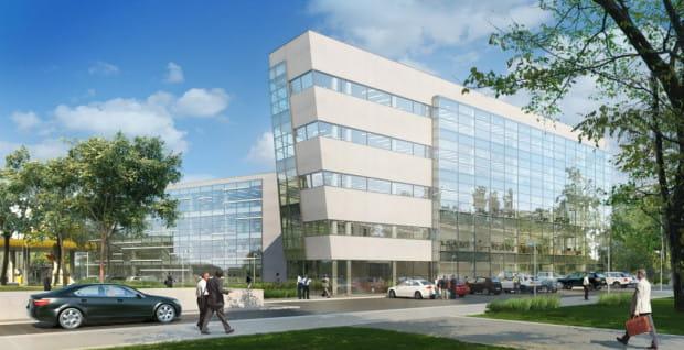 Biurowiec Opera Office osiągnął już docelową wysokość, obecnie trwają prace nad elewacją i instalacjami wewnątrz budynku.