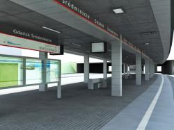 Stacja SKM Gdańsk Śródmieście w pobliżu Targu Siennego powstanie w 2014 roku. SKM wyda na jej budowę i doprowadzenie do niej linii kolejowej ok. 80 mln zł.