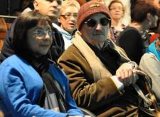 Sławomir Mrożek razem ze swoją żoną Susaną Osorio Rosas.