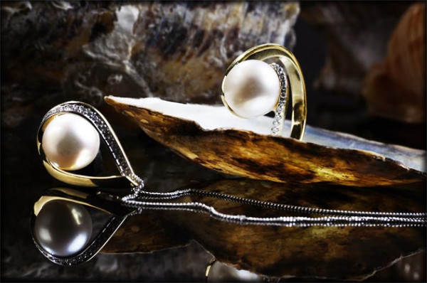 Brylanty z perłami