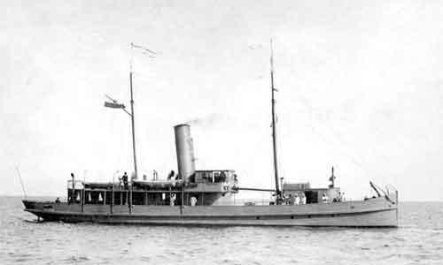 ORP Pomorzanin kupiony przez admirała Józefa Unruga.