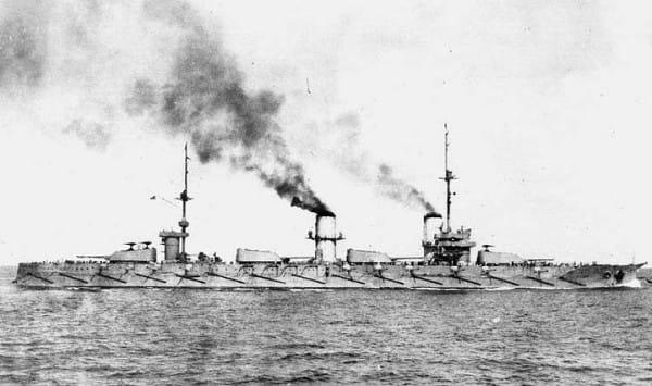 Pancernik Imperatrica Marija, którym dowodził Kazimierz Porębski.
