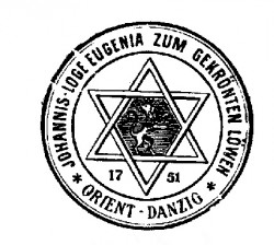 "Logo ""Eugenii pod Ukoronowanym Lwem""."