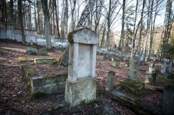 Żydowski cmentarz w Sopocie.