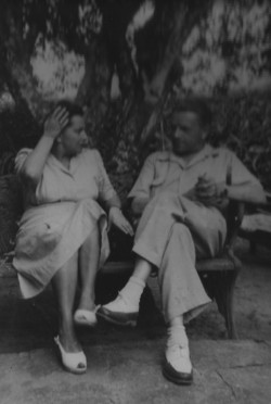 Magdalena i Andrzej Łoś w Brazylii.