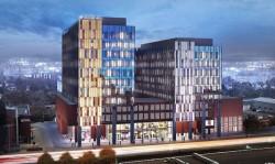 Deweloper biurowców Alchemia rozpisał konkurs na projekt kładki, która pobiegnie nad Grunwaldzką na wysokości stawianych przez niego budynków oraz kampusu uniwersyteckiego.