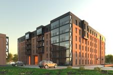 Budynek, który będzie powstawać jako pierwszy, będzie nawiązywać fasadą do starszych zabudowań, a jednocześnie nie zabraknie w nim nowoczesnych akcentów.