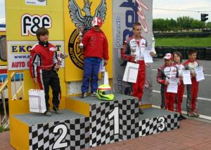 Alan na podium w Radomiu.