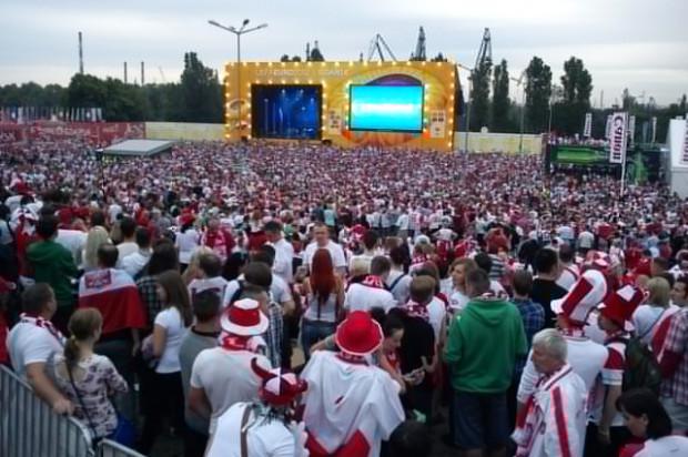 Prawdziwe tłumy w gdańskiej strefie.