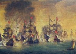 Szkot James Murray w roku 1620 mianowany został budowniczym polskiej floty wojennej, a siedem lat później dowodził okrętem Król Dawid, który walczył w bitwie pod Oliwą.