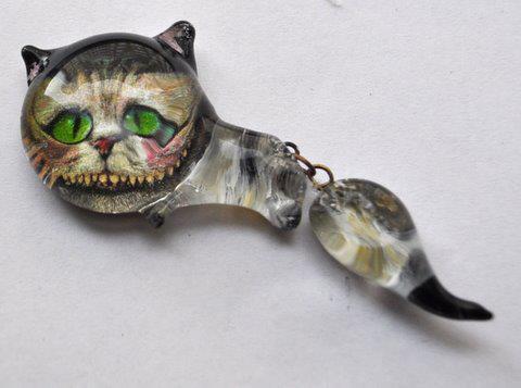Kot z Alicji w Krainie Czarów Tima Burtona