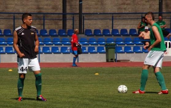 Damian Kugiel (z lewej) w tym roku oprócz złotego medalu z Lechią awansował z polską reprezentacją do półfinału mistrzostw Europy do lat 17.