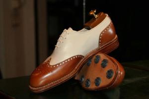 1bda4ef28c4a6 Buty firmy Kielman do gry w golfa.