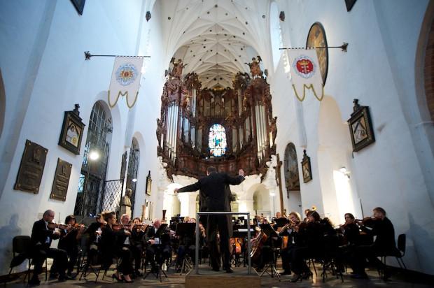 Jeden z koncertów, które tego lata odbyły się w Katedrze Oliwskiej.