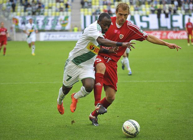 Abdou Razack Traore strzelił pierwszą bramkę meczu, niestety ostatnią dla Lechii.