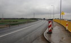 Nowy odcinek ul. Starogardzkiej w okolicach Południowej Obwodnicy Gdańska.