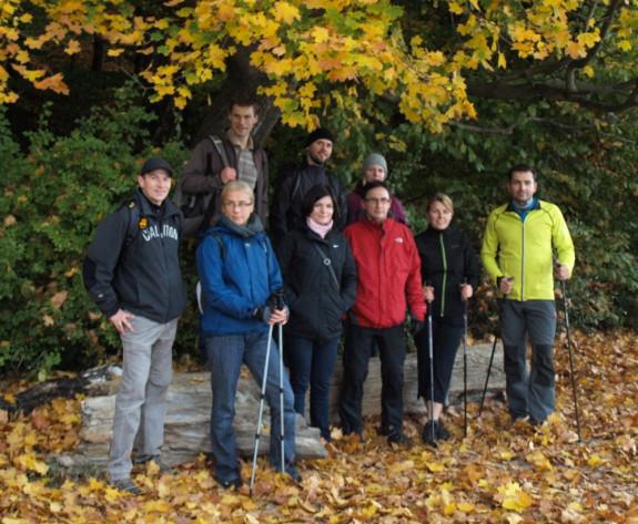 A oto nasza skromna grupka, a wśród nich nie tylko znajomi, ale i osoby, które dołączyły pierwszy raz.
