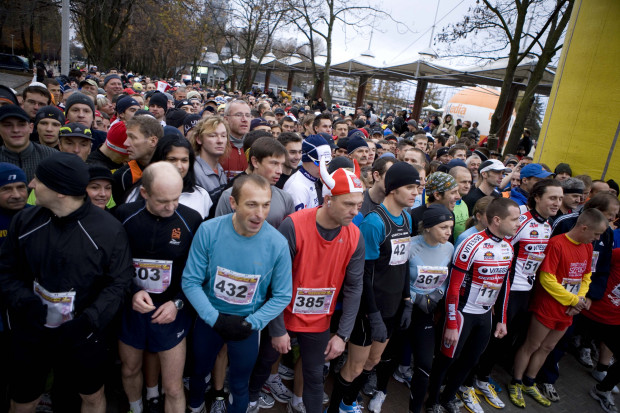 Bieg Niepodległości zawsze gromadzi wielu fanów aktywnego spędzania  czasu. W tym roku zapisało się ponad 3,5 tys. osób.