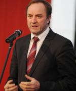 Mieczysław Struk, marszałek województwa pomorskiego.