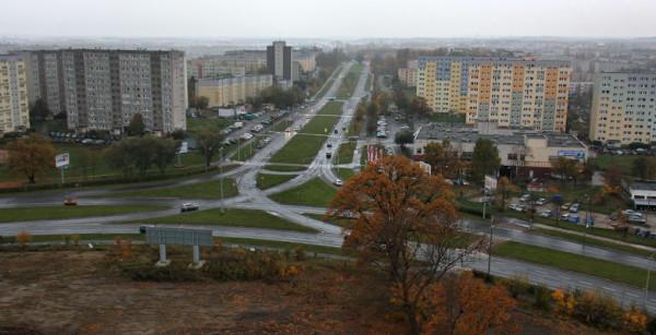 Wraz z budową trasy tramwajowej, przebudowie ulegnie również skrzyżowanie ul. Rakoczego i Bulońskiej.