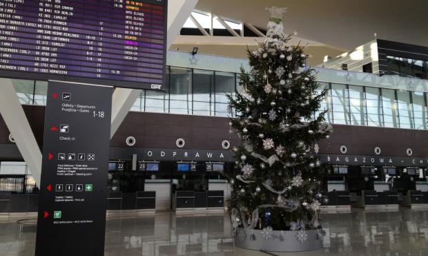 Lotnisko w święta funkcjonuje tak samo jak w pozostałe dni w roku.